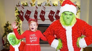 Download THE GRINCH Christmas Challenge to catch Santa Clause Video