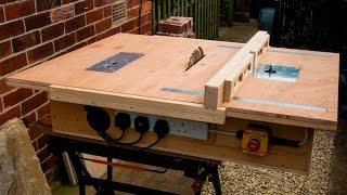 Download Homemade table saw with built in router and inverted jigsaw 3 in 1 Video