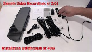 Download ZeroEdge Z2 Plus Reaview Mirror Dashboard Camera Review and FULL Installation Video