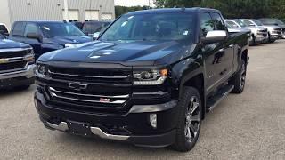 Download 2018 Chevrolet Silverado 1500 LTZ 4WD Black Roy Nichols Motors Courtice ON Video