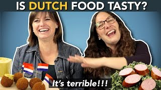 Download DUTCH CUISINE!? ...what do foreigners think about DUTCH FOOD? Video
