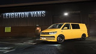 Download First Ever Chrome Yellow Vw T6 204ps With Abt Styling Spec Explanation Lv Sportline Pack Video