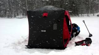 Download Pilkkiteltta Thunderbay Rapid Shack 3 Video