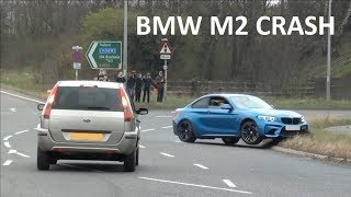 Download BMW M2 CRASH TRYING TO SHOW OFF AT A CAR SHOW Video