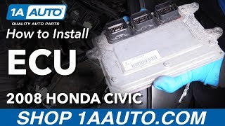 Download How to Replace Engine Computer 05-11 Honda Civic Video