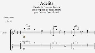 Download Adelita (Mazurka) - Tárrega - Tablatura por Jesús Amaya... Video