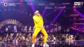 Download Wizkid, Dj Maphorisa, Dj Buckz, Emtee perfomance MTV MAMA 2016 Video