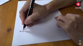 Download 一个华丽的签名可以让你受益一生,农村小伙现场教学,你想学吗? Video