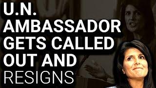 Download Trump UN Ambassador Nikki Haley Resigns Day After Investigation Request Video