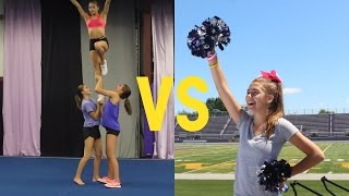 Download All Star Cheer VS School Cheer (QUIZ) | TheCheernastics2 Video
