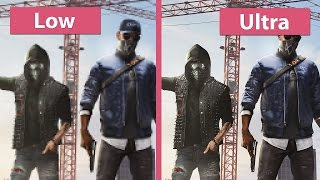 Download Watch Dogs 2 – PC Low vs. Ultra with Options in detail Graphics Comparison Video