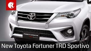 Download New 2017 Toyota Fortuner TRD Sportivo Video