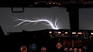 Download 737 Jumpseat Takeoff & St. Elmo's Fire !!! Video