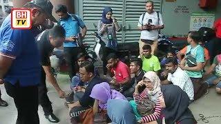 Download 340 warga asing ditahan di Pasar Borong KL Video
