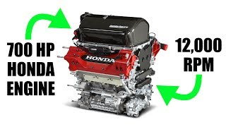 Download How Honda's 2.2L Engine Makes Over 700 Horsepower Video