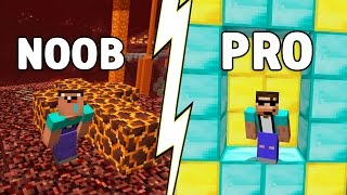 Download How to go from NOOB to PRO in just 9 SECONDS! (Minecraft Parkour) Video
