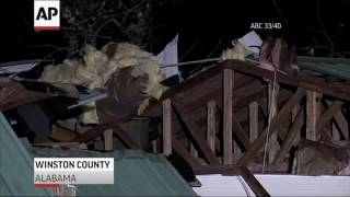 Download Raw: Deadly storms strike northern Alabama Video