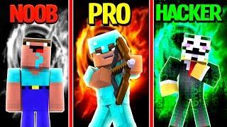Download Minecraft - NOOB vs PRO vs HACKER - HUNGER GAMES in Minecraft / Animation! Video