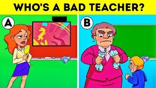 Download 🏫SCHOOL RIDDLES WITH ANSWERS! LOGIC PUZZLES AND CRIME TEASERS💡 Video