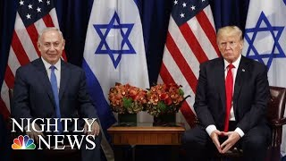 Download President Donald Trump Recognizes Jerusalem As Israel Capital, Delay Embassy Move | NBC Nightly News Video