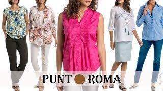 Download Lo último en CAMISAS Y BLUSAS de PUNT ROMA | Moda Mujeres de 50 años o más | Primavera Verano 2018 Video