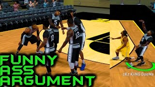 Download WE ARGUED THE WHOLE 4TH QUARTER! NBA 2K17 ProAM When It Worked Video