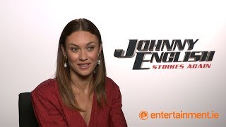 Download Olga Kurylenko is up for a female Bond spin-off   Johnny English Strikes Again Video
