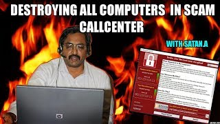 Download Destroying All Computers On Scammers Network Video
