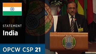 Download India Statement by H.E. Mr J. S. Mukul at CSP21 Video
