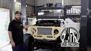 Download THE SKID FACTORY - V12 Twin Turbo BJ40 LandCruiser [EP5] Video