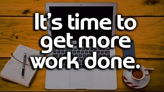 Download How To Be More Productive - Reverse-Engineer your day for Productivity and Time Management Tips Video