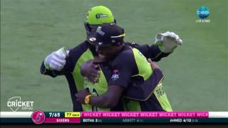 Download Highlights: Sixers v Thunder - BBL06 Video