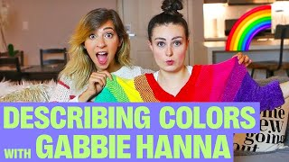 Download Trying To Describe Colours To A Blind Person w/ The Gabbie Show! Video