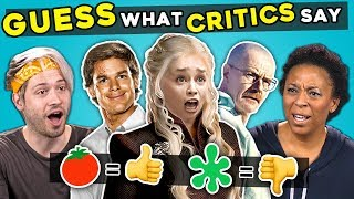 Download The WORST TV Show Endings | Guess The Rotten Tomatoes Score Video