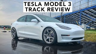 Download World's First Modified Tesla Model 3 Hits The Track Video