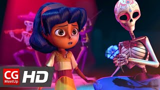 Download CGI Animated Short Film ″Dia de los Muertos″ by Ashley Graham, Kate Reynolds, Lindsey St | CGMeetup Video