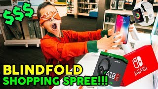 Download Buying EVERYTHING I Touch Blindfolded! **NO BUDGET CHALLENGE** Video
