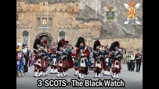 Download The Black Watch P&D parade Edinburgh's Royal Mile [4K/UHD] Video
