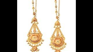 Download latest designer gold earchains designs/fashion9tv Video