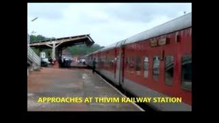 Download DELHI TO GOA WITH NATURAL SCENE IN RAJDHANI 1stAC Video