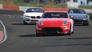Download Porsche 718 Boxster S vs Nissan 370Z Nismo vs BMW Z4 E89 • Nordschleife Video