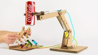 Download How to Make Hydraulic Powered Robotic Arm from Cardboard Video