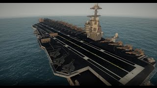 ARMA 3 Jets DLC Showcase: USS FREEDOM First Look AND