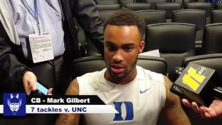 Download CB Mark Gilbert - Post Game v UNC Video