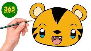 Download COMO DIBUJAR UN TIGRE KAWAII - Cómo dibujar kawaii paso a paso Video