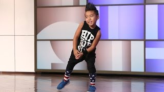 Download Astounding Kid Dancer Aidan Xiong Video
