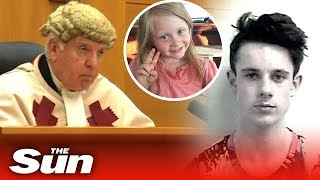 Download Aaron Campbell gets life in prison for raping and killing Alesha MacPhail, 6 Video