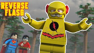 Download reverse flash saves the day lego dc superheros the flash Video