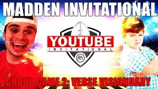 Download MADDEN YOUTUBER INVITATIONAL GROUP GAME 2! GOING FOR #1 SEED! MADDEN 17 DRAFT CHAMPIONS GAMEPLAY Video