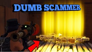 Download DUMB Scammer Tried To Scam Me! (Scammer Gets Scammed) Fortnite Save The World Video